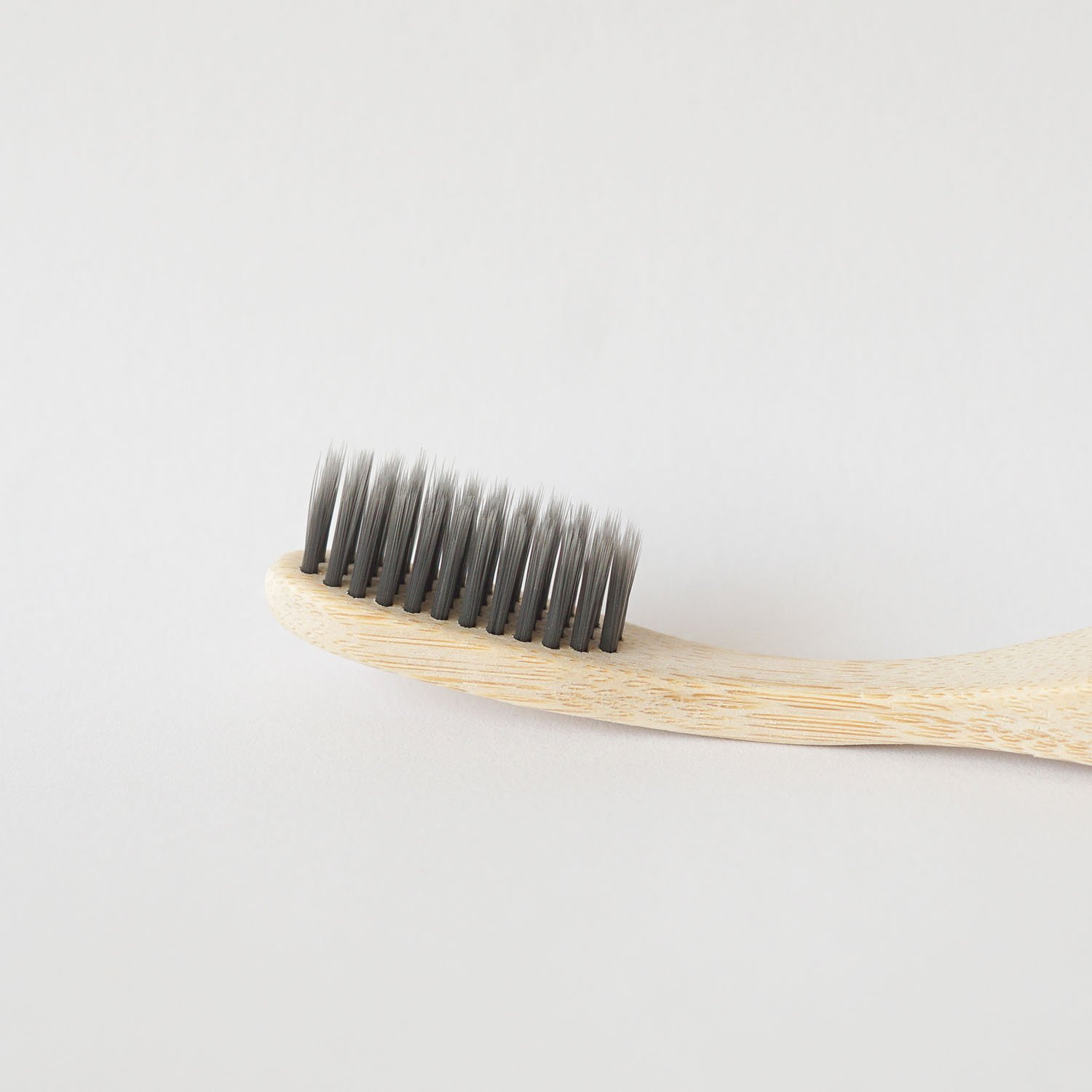 4 Pack charcoal infused bamboo toothbrushes